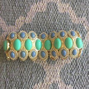 JCREW Factory multicolor stone bracelet